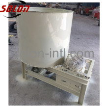 Sawdust wood pallet block glue mixer