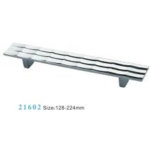 Aleación de zinc de muebles de hardware Tirar manija de gabinete (21602)