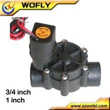 Válvula solenóide de trava de ação direta de 3/4 '
