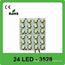 3528 luz de bóveda 12V LED techo de techo
