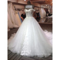 с длинным рукавом свадебное платье в Дубае сексуальный корсет лиф топ мода кружева свадебные платья