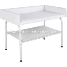 hospital or home care epoxy power coated Infant swadding table