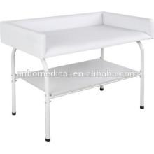 Hospital ou cuidados domiciliares epoxy poder revestido Infant swadding table