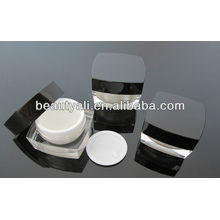 5G 15G 15G 30G 50G 100G Cuadrado de acrílico cosméticos Jar para crema