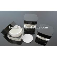5G 15G 15G 30G 50G 100G Praça cosméticos acrílico Jar para creme