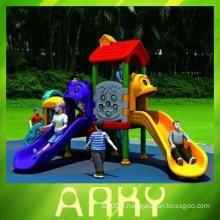 Équipement de parc d'attractions en plastique pour enfants