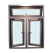 Fenêtre à battants en aluminium Quanlity et Lower Price