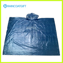 Clear Adult Emergency PE Rain Poncho Rpe-004