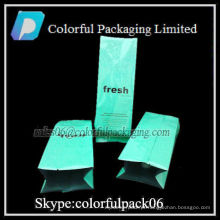 Sacos de café personalizados impressos selo de calor / embalagem de café com válvula