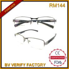 Lunettes de créateurs populaires 2016 encadre nouvelles lunettes métalliques de demi-trame lunettes de lecture