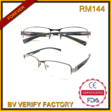2016 Popular Designer Eyeglass Frames New Metal Half Frame Glasses Reading Glasses