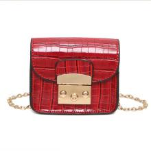Lady petit sac de côté rouge pour les filles du collège