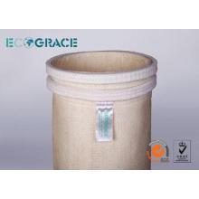 Nomex Felt Air Filter Bag  For Asphalt Mixing Plant / Metal