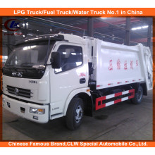 2016 New Design Dongfeng Compactor Garbage Trucks 6cbm for Sale