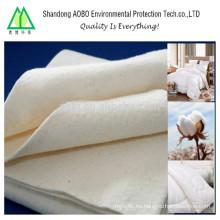Aceite de fieltro de algodón absorbente de aceite sintético almohadilla obsorbente