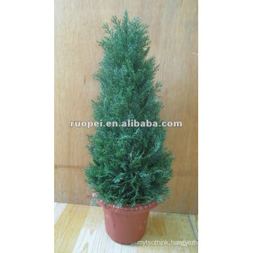 Artificial Christmas Tree Bonsai For Home Decoration, Artificial Plant
