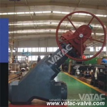 High Pressure Gear Operated Y Globe Valve