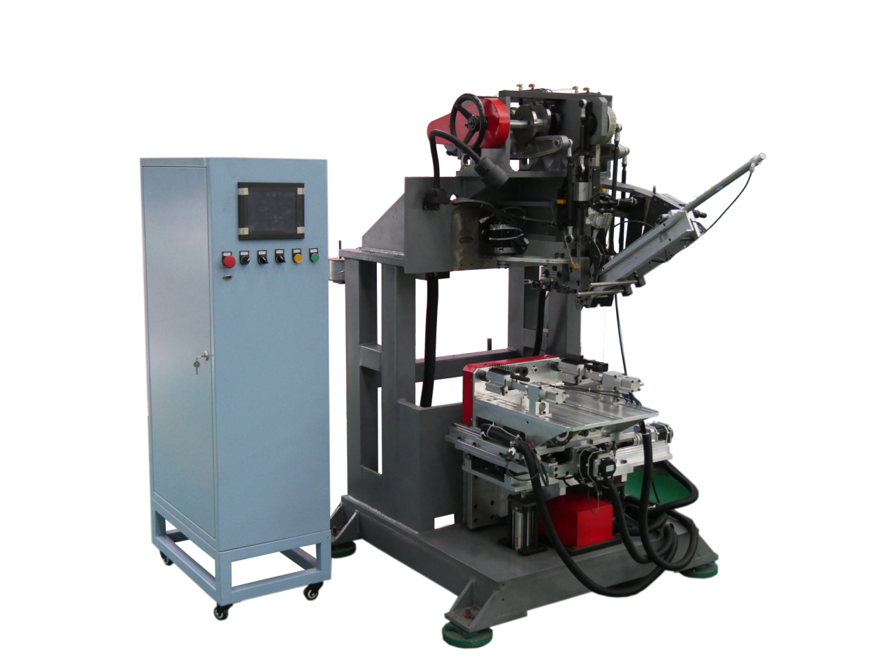 3 Axis High Speed Drilling and Tufting Brush Machine (Flat Wire)