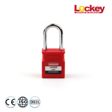 Lockey 38mm Steel Shackle Safety Padlock