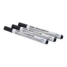 Uso del lápiz de limpieza IPA para limpiar la impresora térmica