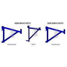 Side Brackets And End Brackets Scaffolding Frames With Coupling Pin And Saddle Hange