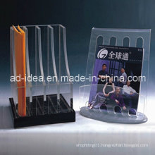 Practical Acrylic Case /Acrylic Display Stand for Document, Magazine