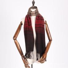 écharpe en laine teinte