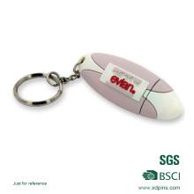 Llavero USB personalizado material del silicón del PVC