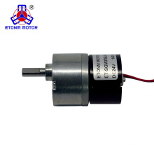 12v 37mm brushless dc gear motor for robot
