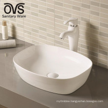 modern ceramic art counter top wash basin