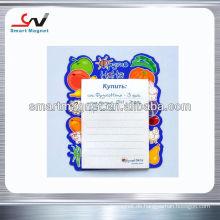 Heißer Verkauf kundenspezifischer weicher 3d Gummimagnet Kühlschrankmagnet