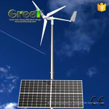 Équipement solaire et de l'énergie éolienne de 10kw pour des ventes