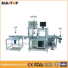Rolamento automático de marcação a laser máquina / Rolamento de marcação a laser linha completa