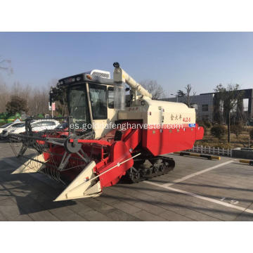 Crawler Paddy Rice Mini cosechadora combinada