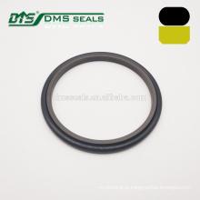 40% de bronze preenchido PTFE anel de vedação de borracha de vedação hidráulica de teflon GSI