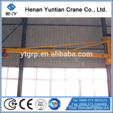Cantilever Wall Mounted Jib Crane With Electric Hoist