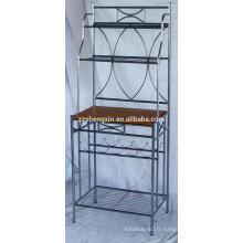 Porte-bagages en acier inoxydable, étagère en métal