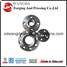 ANSI JIS DIN BS GB Flange de tubulação de aço carbono padrão