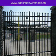 Stadium industrial wrought iron gate fence