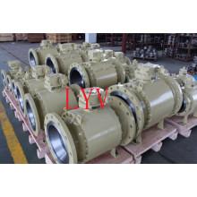 Válvula de bola profesional del acero inoxidable del fabricante chino de la válvula hecha