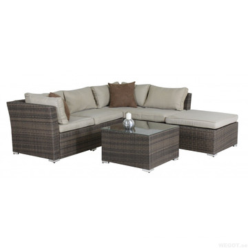 Wicker Patio Lounge Sofa Set Outdoor Garden Rattan Furniture