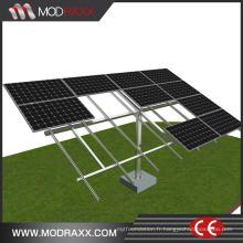 Crochet de bâti de toit solaire en aluminium de puissance verte (XL185)