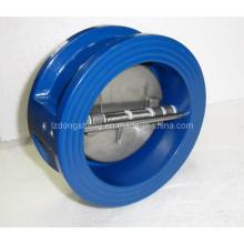 Válvula de Retenção, Ferro Dúctil, Classe ANSI 150, Tipo de Wafer de Disco Duplo