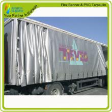 1000d ПВХ грузовик занавес для печати Тент ткань