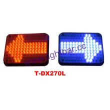 Pantalla de LED pantalla policía luz ADVERTENCIA barra con flecha (TBD-DX270L)