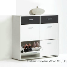 Color Mix Fashion Style Shoe Storage Cabinet (HF-EY08143)