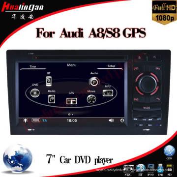 Автомобильное видео для Audi A8 (HL-8818GB)