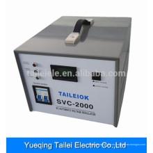 AC estabilizador / regulador de voltaje automático 220v ac