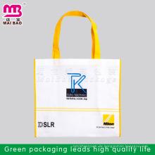 Kundenspezifischer Entwurf AZO geben pp. Nicht gesponnene Trägergriffbeutelgroßverkauf für das Verpacken frei