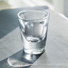 Großhandel 1,5 Oz Schnapsglas mit schwerer Unterseite